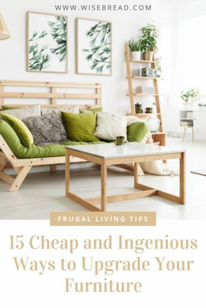 Are you on a budget and don't have the money to buy new furniture of the living room. We've got some fast and easy DIY hacks to refresh your home on the cheap. From thrifty finds to innovative solutions, we'll help you! | #DIY #furniture #decorating