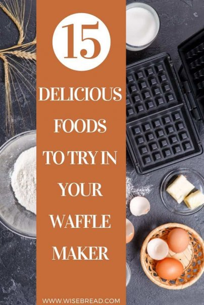 People are now using their waffle makers to crisp up anything from pizzas to cakes to brownies. Check out these 15 delicious recipes for your waffle maker! | #waffles #wafflemaker #kitchenhacks
