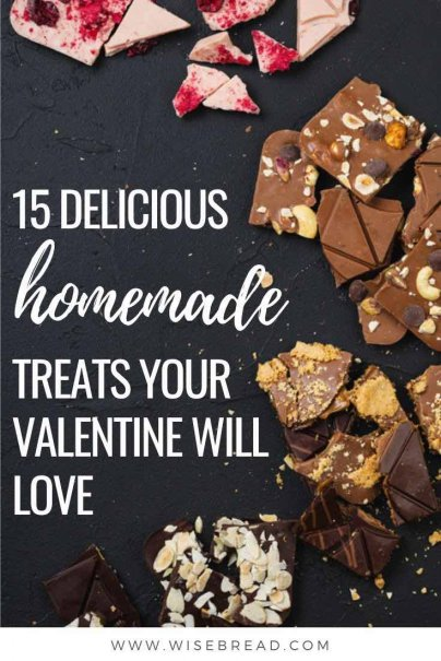 If you're not sure what to get your partner for Valentine's Day, try making one of these delicious homemade treats. | #valentinesday #DIY #valentinesgift