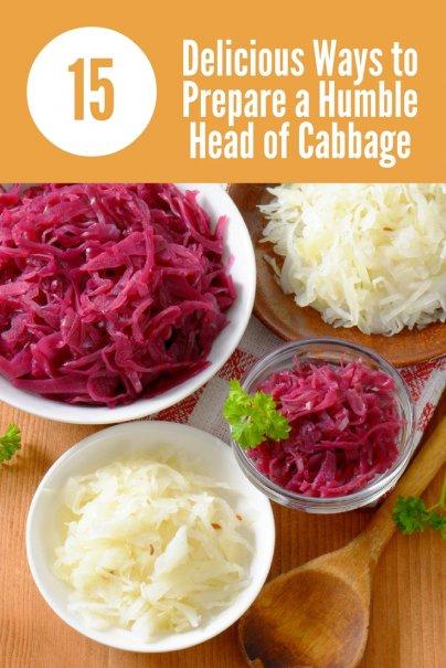 15 köstliche Zubereitungsarten für einen bescheidenen Kohlkopf
