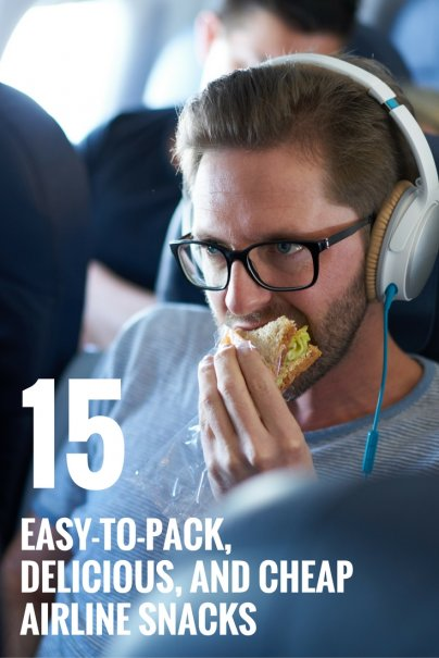 15 Easy-to-Pack, Delicious, and Cheap Airline Snacks