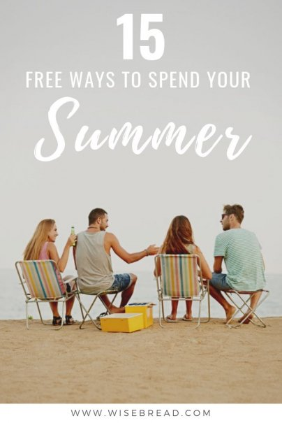 Want to know some great free things to do in the summer? From outdoor activities, to festivals and more, we've found the best ways to enjoy your summer, without spending a dime. | #frugalliving #freeactivities #freebies