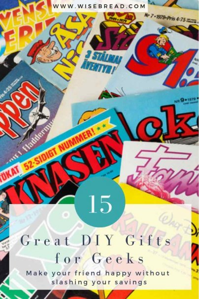 15 Great DIY Gifts for Geeks
