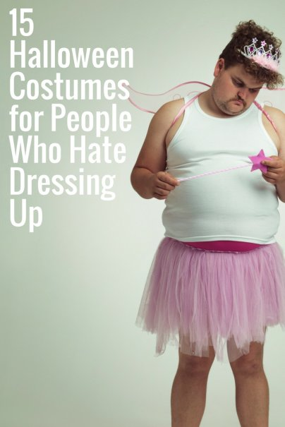 15 Halloween Costumes for People Who Hate Dressing Up