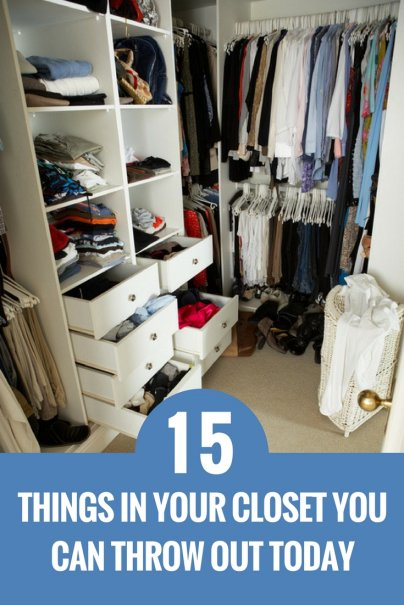 15 Things in Your Closet You Can Throw Out Today