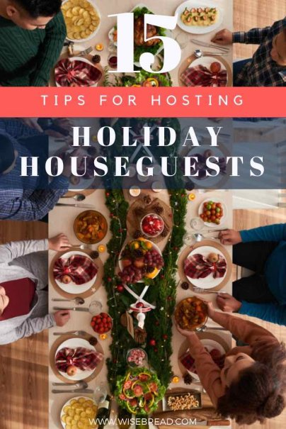 Are you planning on hosting and entertaining friends, family, guests, this christmas festive season? Whether its for the weekend, or for a week, we've got 15 tips and ideas on how to be the most hospitable host. | #christmas #festiveseason #frugalliving