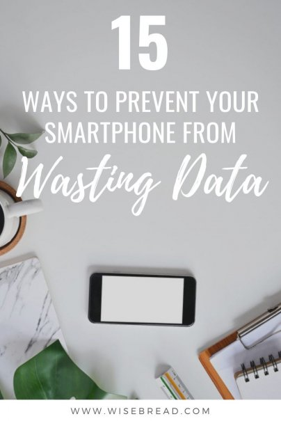 On a budget? Or want to save money on your phone plan? Here's the tips and ideas to make sure you don't go over your smartphone data! | #data #iphonehacks #savemoney