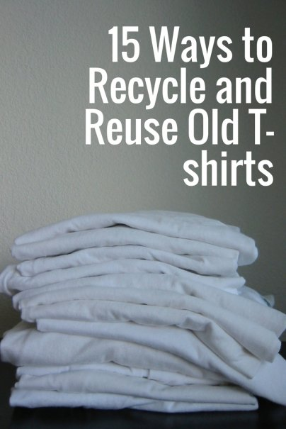 15 Ways to Recycle and Reuse Old T-shirts