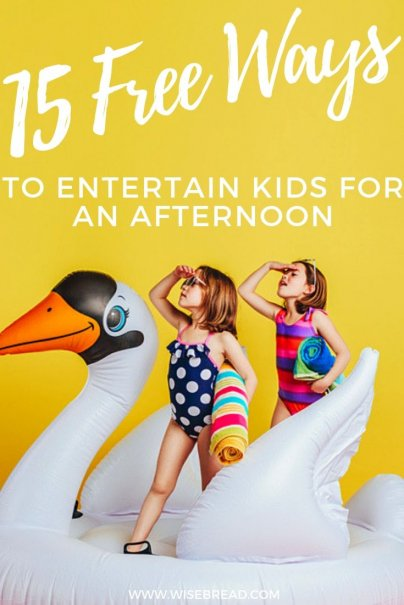 Kids on holidays soon? We've got 15 free activities for kids, so you can keep them occupied and satisfied, without spending money. | #frugaltips #freeactivities #kidsactivities