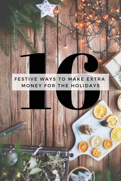 16 Festive Ways to Make Extra Money for the Holidays