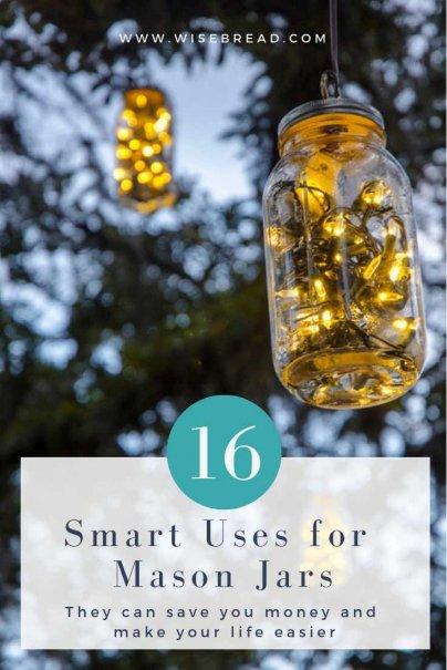 16 Smart Uses for Mason Jars