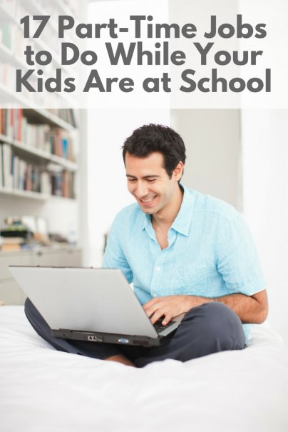 17 Part-Time Jobs to Do While Your Kids Are at School