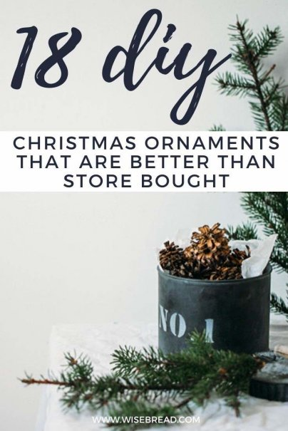 Want to decorate your tree on a budget.? Whether it's your first Christmas and you don't have many ornaments to begin with, or you just don't want to break the budget this year, here's how you can save money on Christmas decorations. | #christmas #DIY #cheapdecorations