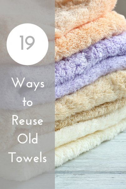 19 Ways to Reuse Old Towels