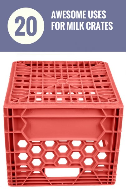 20 Awesome Uses for Milk Crates