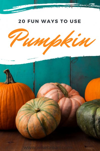 20 Fun Ways to Use Pumpkin