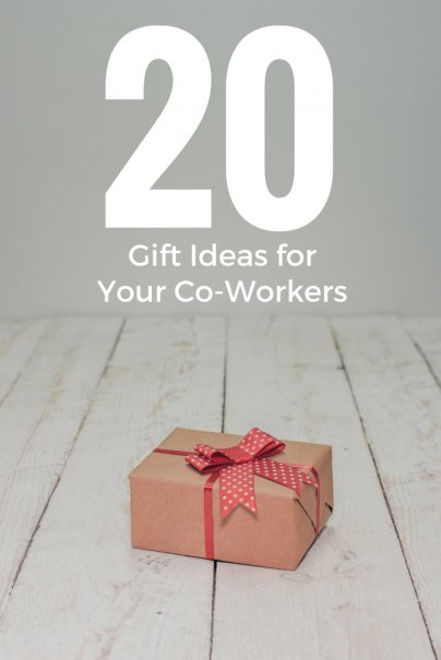 20 Gift Ideas for Your Co-Workers