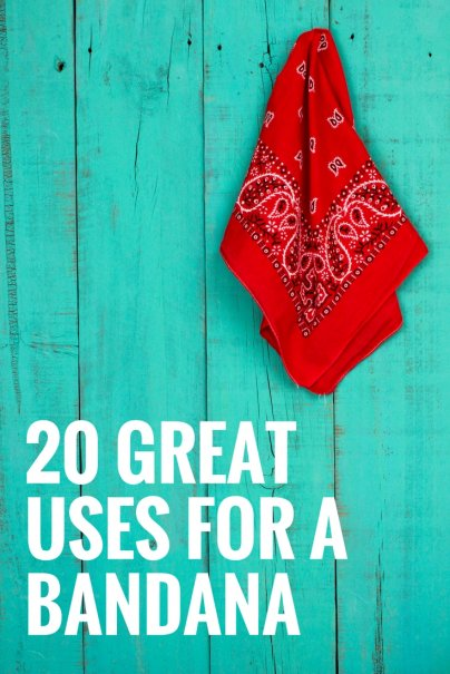 20 Great Uses for a Bandana