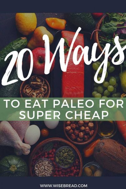 Paleo diets are often reliant on meat and exclude inexpensive staple foods such as grains, beans, and root vegetables, so they can be costly diet. Luckily, there are a number of ways to cut the grocery bill and eat paleo at the same time. | #paleodiet #frugaltips #cheapfood