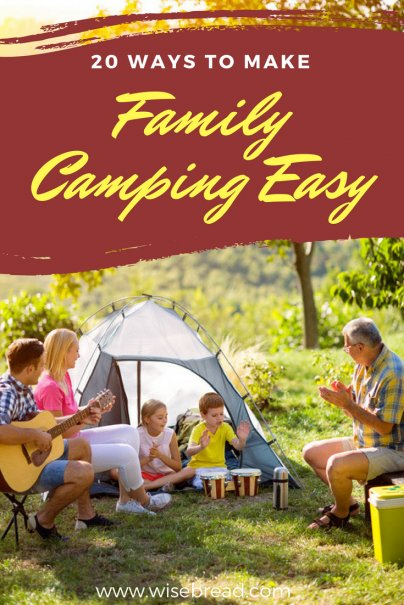 20 Ways to Make Family Camping Easy