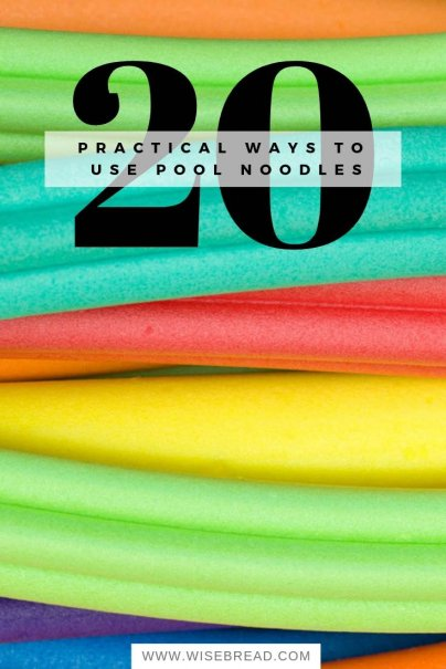 20 Ways to Use Pool Noodles