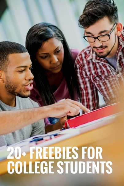 20+ Freebies for College Students