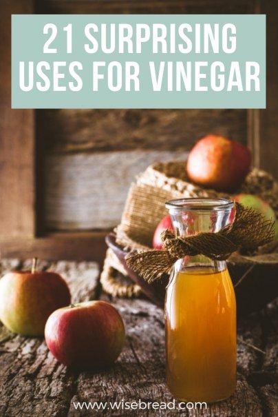 21 Surprising Uses for Vinegar