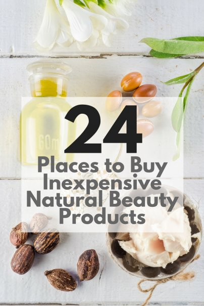 24 Places to Buy Inexpensive Natural Beauty Products