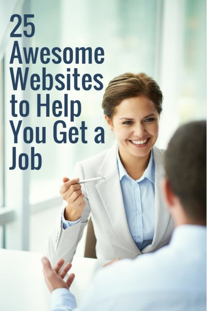 25 Awesome Websites to Help You Get a Job