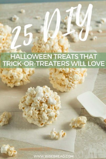 Want some cheap DIY halloween treat ideas? We've got some great trick-or-treating treats for you to make! | #halloween #cheapfood #thriftyfood