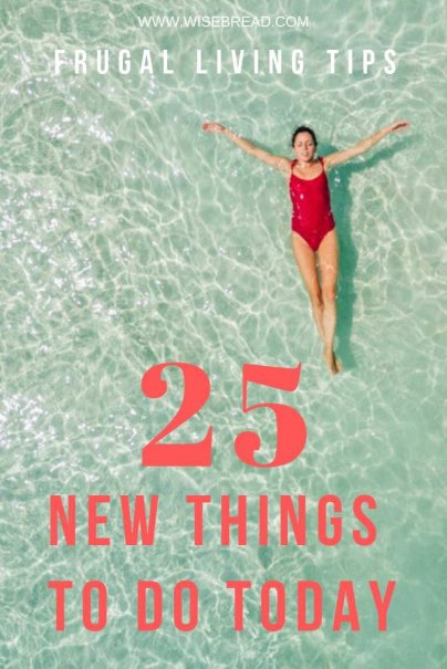 Want to try some new things in 2019? We've got a list of fun activities ideas that you can do to spruce up your life! You can do some at home, some outdoors, with your boyfriend or kids! Take a look at our 25 tips on new things to try, they may even turn into hobbies this year! | #frugalliving #funactivities #thingstodo
