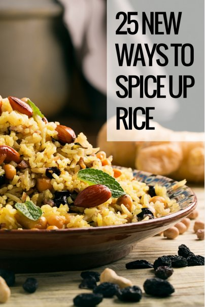 25 New Ways to Spice Up Rice