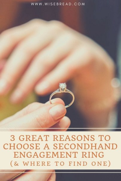 Are you a frugal couple? Here are three reasons you should consider buying a used ring for the big day. | #wedding #engagement #frugaltips
