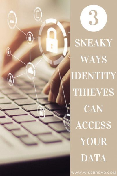 With cyber criminals and thieves lurking in the technology world, there's plenty of methods for them to get a hold of your personal information. Here are three ways the can steal your identity and how to protect yourself. | #identitytheft #cyberthieves #technology