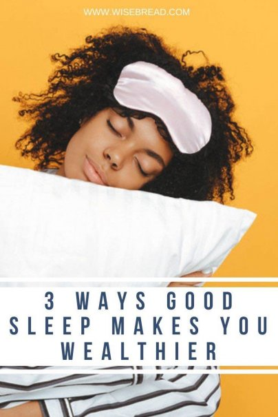 But chronic sleeplessness hurts more than just your ability to get through the day — it's also destructive to your finances. Here are three ways that not getting enough sleep hurts your personal finances and budget. | #financetips #Moneymatters #personalfinance