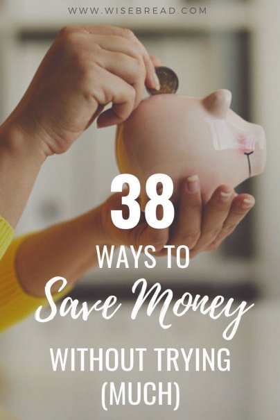 Want to start saving money, there are some simple and easy ways to do so. From hanging out with frugal friends, to making a money-making hobby, using vinegar to clean and more! We've got 38 tips to help you save money! | #frugaltips #moneysaving #savingtips