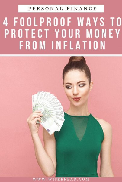 Want to protect your money from inflation? Before it eats away at your savings and your investment, check out these 4 tips and strategies that'll reduce the hit and keep more cash in your pocket. | #financetips #moneytips #inflation