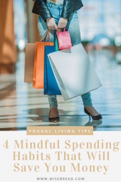 it's easy to spend money without thinking and burn through your personal finances. Here are some mindful spending strategies that can help you resist impulse buys long enough to help you remember what you truly value. | #mindful #financetips #frugalliving