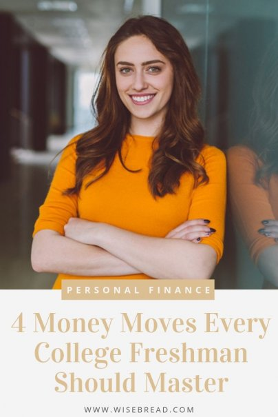 Are you in college and want to know how to make good financial decisions? These are 4 important money moves you should know how to make. | #finance #personalfinance #moneymatters