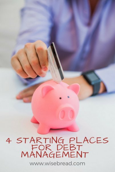 4 Places to Start Your Debt Management Crusade