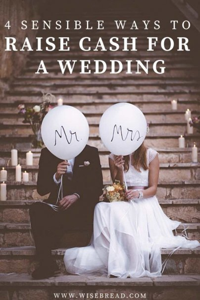 You can have your dream wedding without burdening a brand-new relationship with crushing debt. We've got the tips and ideas to help you raise the cash to fund your dream wedding! | #weddinghacks #weddingbudget #weddingfund