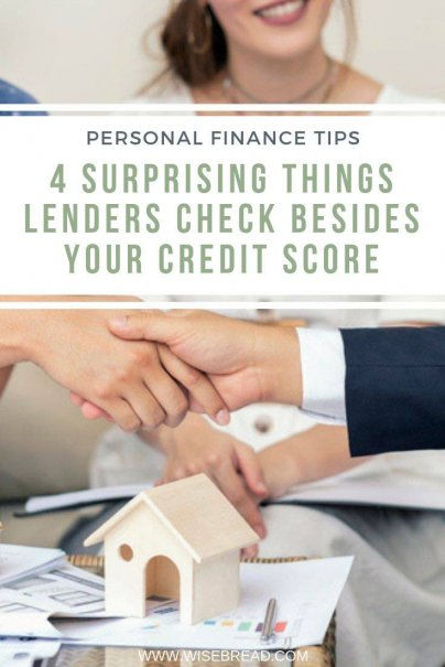 Did you know that mortgage lenders don't only look at your credit score when you apply for a home loan. There are some other important factors to consider, from your job history to your down payment. Check out 4 tips on what else they look for! | #mortgage #loan #lenders