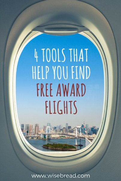 4 Tools That Help You Find Free Award Flights