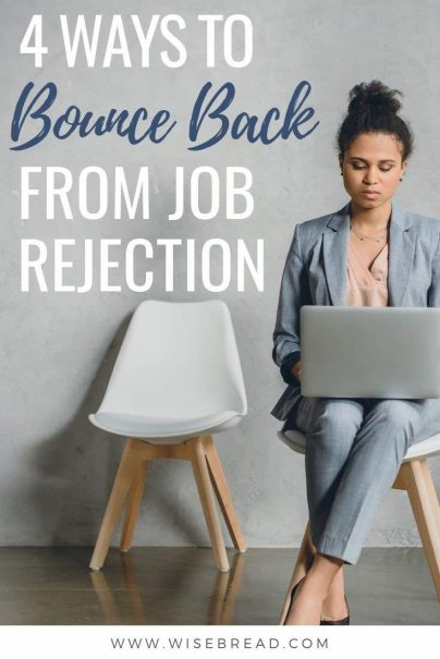 Did you get rejected at your last job interview? Here's how you can bounce back and get the confidence to start going for new jobs. | #careeradvice #interview #jobsearch