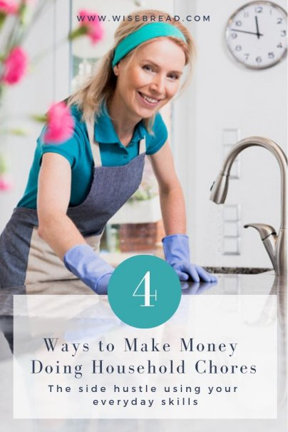 4 Ways to Make Money Doing Household Chores