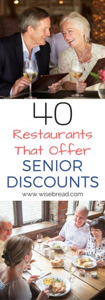 40 Restaurants That Offer Senior Discounts