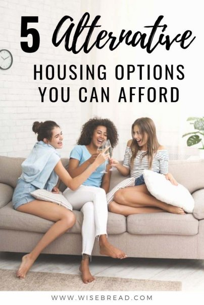 Keeping your housing costs low is key to achieving financial freedom. That's we've found some cheap and budget accommodation alternatives, from co-living, to housesitting and more, we've got 5 ideas for you. | #housesitting #savemoney #frugalliving