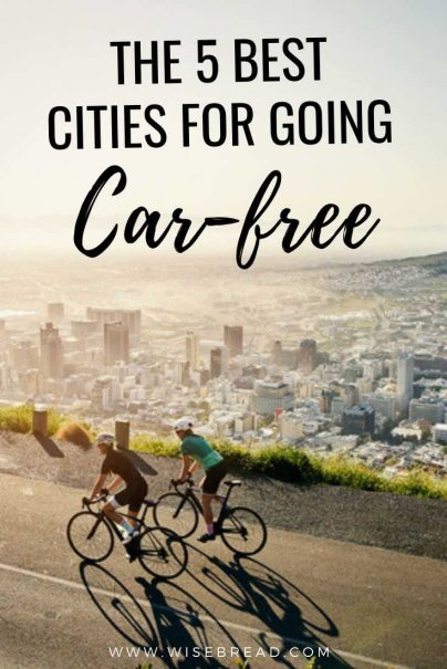 Want to save money on petrol? Or lower your carbon footprint? You don't need a car to get around these U.S. cities. | #USA #unitedstates #sustainable