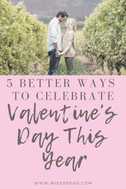 Want to have a cheap valentines day? We've got some budget and creative ideas to spice up your relationship while helping you save money. Go on a date at a winery tasting, or buy your loved one a herb pant instead of flowers, we've got 5 frugal tips for you! | #valentinesday #valentinesdateideas #cheapdates