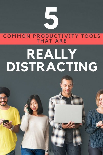 5 Common Productivity Tools That Are Really Distracting